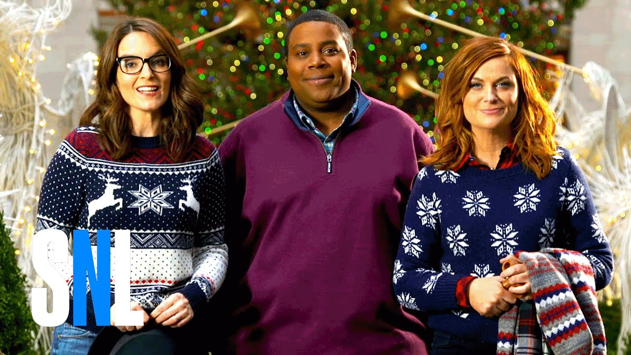 SNL Hosts Tina Fey & Amy Poehler Build a Snowman with Kenan