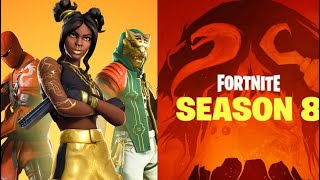 Fortnite Season 8 The whole Battle Pass + all map changes | Fortnite Battle Royale