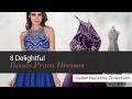 8 Delightful Beads Prom Dresses Halter Neckline Collection