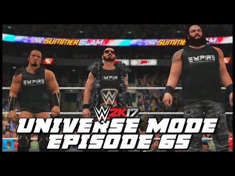 WWE 2K17 | Universe Mode - 'SUMMERSLAM PPV!' (PART 4) | #65