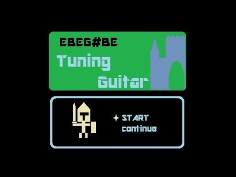 Tuning?Guitar EBEG#BE