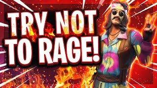 🚫😡😂TRY NOT TO RAGE! | Noob darf nur in Tilted Towers landen und rastet aus?! | Fortnite