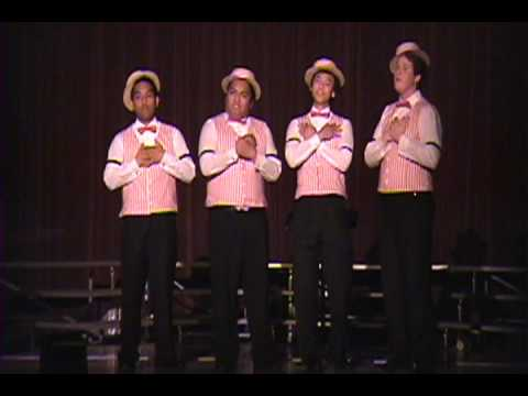 Music Man Quartet singing Lida Rose