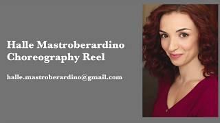 Halle Mastroberardino Choreography Reel