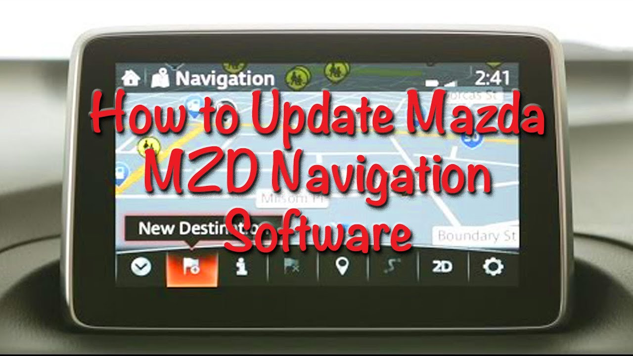 how to update mazda mzd navigation software youtube. Black Bedroom Furniture Sets. Home Design Ideas