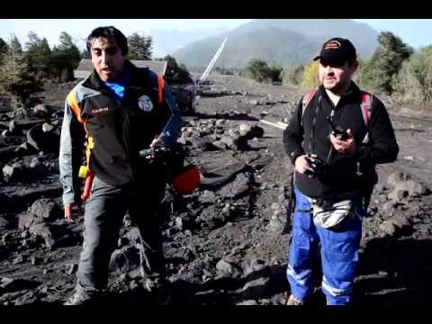 Diario Río Negro | Chile | La furia del Calbuco en Río Blanco