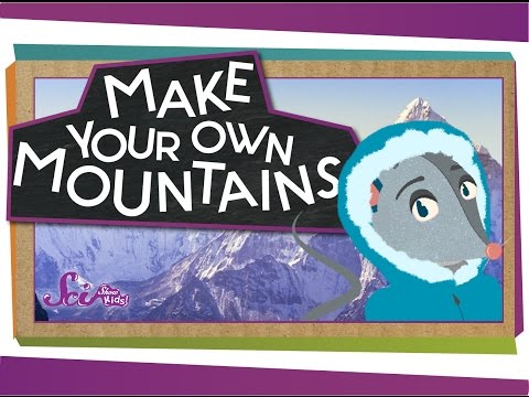 Make Your Own Mountains! - #sciencegoals