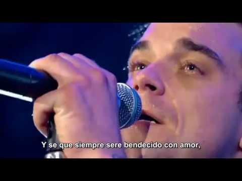 Robbie Williams 'Angels' Subtítulos español