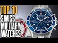 Top 10 Best Swiss Military Watches for Men [2019]