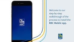Learn how to install the RBC Mobile app