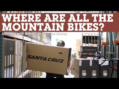 CEO of SANTA CRUZ BICYCLES Interview - Where are the Mountain Bikes? thumbnail