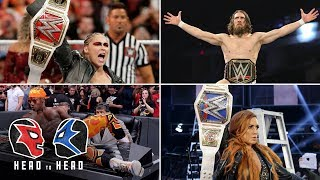 Which Superstar had the best 2018?: WWE Head to Head