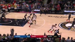 4th Quarter, One Box Video: Atlanta Hawks vs. Detroit Pistons