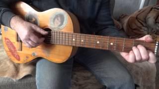 Игра на гитаре. Обучение.Три аккорда.Частушки.Самоучитель. № 1