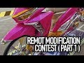Remot modification contest 2018 part 1 classic fashion daily custom kontes motor modifikasi terbaru