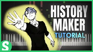 "How to play ""HISTORY MAKER "" from Yuri on Ice 
