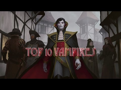 Top 10 Vampires of Magic: the Gathering