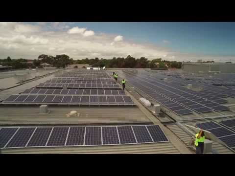 Energy Aware - 1.044MW Commercial Solar Power Installation