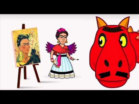 El asombroso mundo de zamba frida kahlo canal pakapaka for El asombroso espectaculo zamba