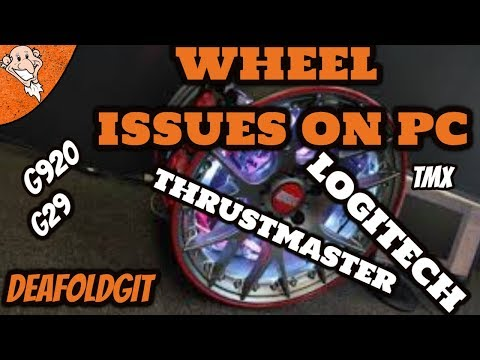 Steering Wheel Issues | Logitech G920/G29 or thrustmaster tmx | games not finding the wheel on pc