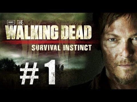 The Walking Dead Survival Instinct Gameplay Walkthrough Part 1 - Intro