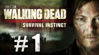 The Walking Dead Survival Instinct Gameplay Walkthrough Part 1 - Intro