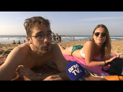 À Biarritz, des allures d'été à la mi-octobre