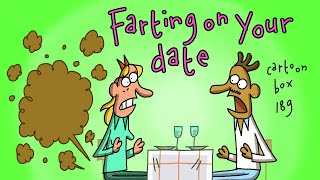 Farting On Your Date | Cartoon Box 189 | by FRAME ORDER | hilarious dating cartoon