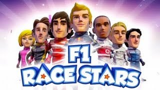 F1 Race Stars - Mostrando o Game