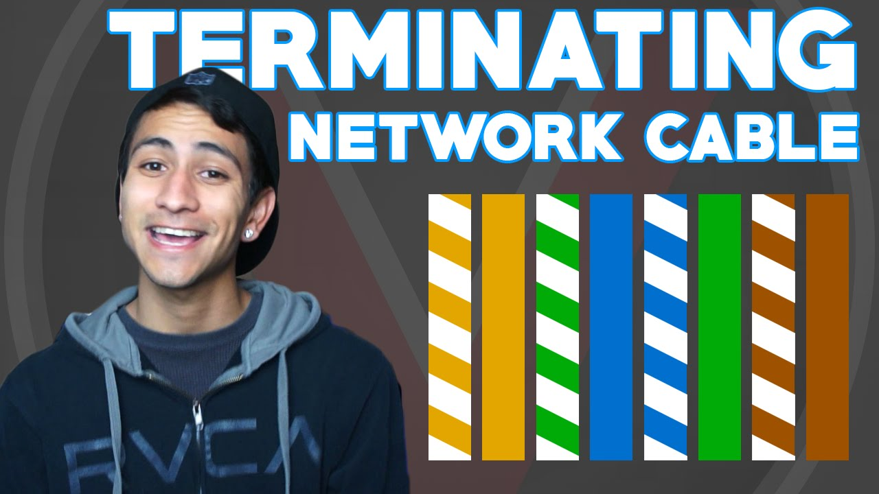 how to terminate network cable [ 1280 x 720 Pixel ]
