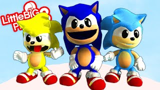 Sonic The Ultimate DLC Costumes Extras  - LittleBigPlanet 3 | EpicLBPTime