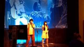 """Roulette Karaoke 60s Style; Sonny and Cher performing """"I Got You Babe"""""""