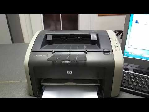Принтер долго думает перед печатью. HP 1010 перед печатью каждого листа задумывается на пол минуты.