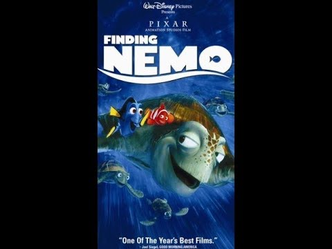 Opening To Finding Nemo 2003 VHS [HQ]