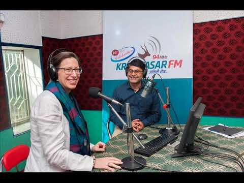 RADIO INTERVIEW WITH US AMBASSADOR TO NEPAL ALAINA B.TEPLITZ BY TULA ADHIKARI KRISHNASAR FM 94 MHz