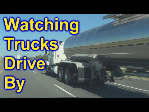Trucks Big Rigs 18 Wheelers Watch Them Driving By