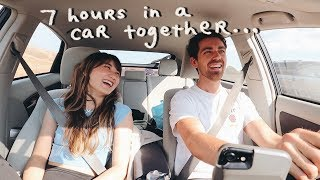 our first road trip together...