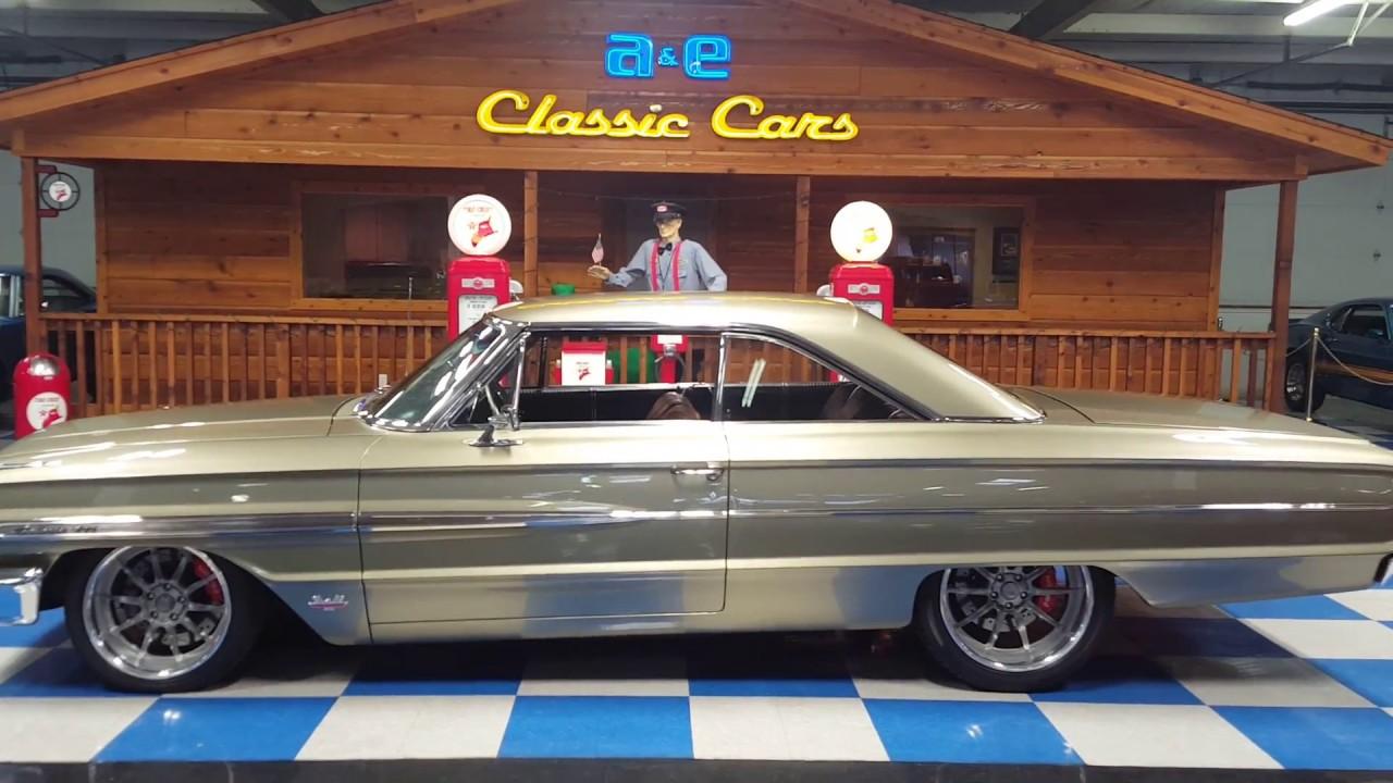 1964 Ford Galaxie (A&E Classic Cars) - YouTube