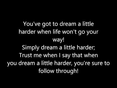 Dream a Little Harder - Lyrics (Starkid's Twisted)
