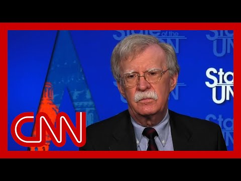 Bolton: Trump's 'fundamental focus' not on US national security