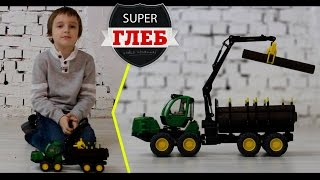 Обзор трактора - Siku John Deere Forwarder