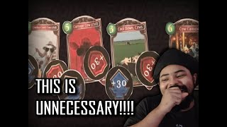 when your opponent won't finish you off in a card game(REACTION!!!)