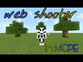 SPIDERMAN WEB SHOOTER TRICK IN MCPE/ command block