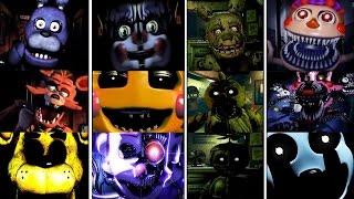 - Five Nights at Freddy s 1 5 Jumpscare Simulator FNAF 1 4 FNAF SISTER LOCATION