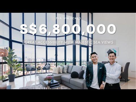 Inside a $6.8million penthouse with majestic views of the sea & city! | Amber Skye | JNA Unlocked 80