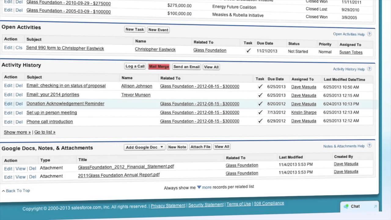 Salesforce for Nonprofits: Organization CRM - YouTube