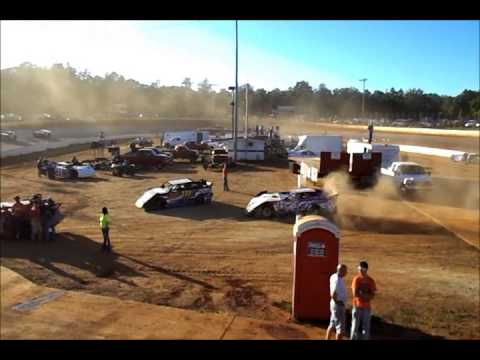 DVD #2 of North Georgia Speedway 9-23-12 - In-Car Camera Footage Dirt Track Racing