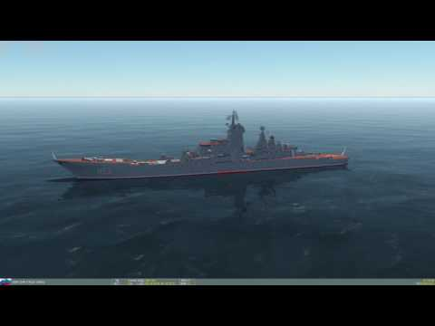 DCS AJS-37 - RB15F Anti-Ship Missile Vs. Kirov Class Pyotr Velikiy