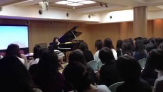 ピアノの先生方対象の三木楽器で開催されている講座です。雰囲気を分か...
