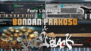 Feels Like Home - Bondan Prakoso & Fade 2 Black (Midi Instrument/Karaoke by Rasman Muhammad)